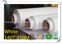 "Free Shipping 5 meters (5 yards) White 140T 350mesh-34 width:127cm(50"")  Monofilament Silk Screen Printing Mesh PW"