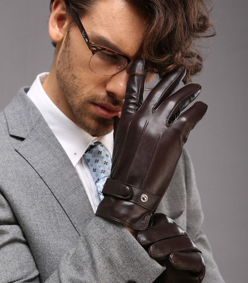 Leather Gloves For Men Winter Leather Winter Glove For