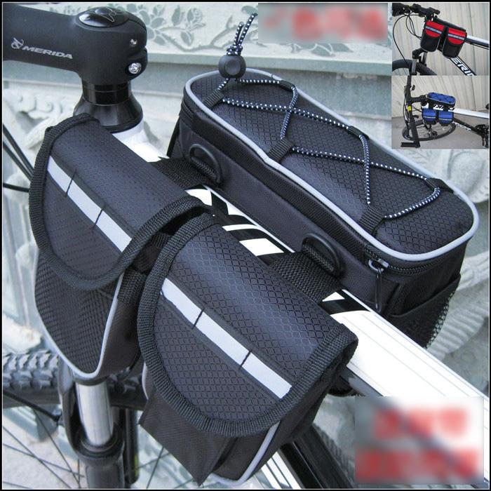 bike bicycle accessories phone bag/ bag saddle/bicycle frame bag/ bag cycling(China (Mainland))