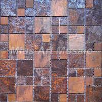 [Mius Art Mosaic]  Copper bronze mosaic for kitchen backsplash  A6YBC012
