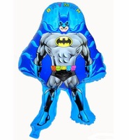 10p New Type BATMAN Foil Helium Balloon Toy Birthday Party Wedding Christmas Day Decoration Supplies Kids Gift  Toy Hot Sale