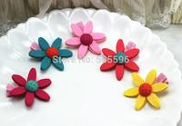 Fashion Cute Lovely Zou chrysanthemum flower hairpin hair accessories for children Hair Accessories Free Shipping