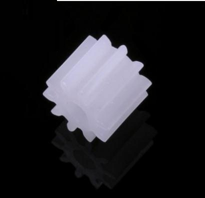 DIY Gear 100PCS 10-2A 0.5M 10T 2MM Diameter is 6mm Rc Helicopter Airplane Toy Car Robot Spare Parts Part Accessories(China (Mainland))