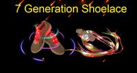 For Christmas Party LED Flashing Shoestring Glowing Webbing Shoelaces  Light Up Fiber Optic LED Shoe Laces Webbing