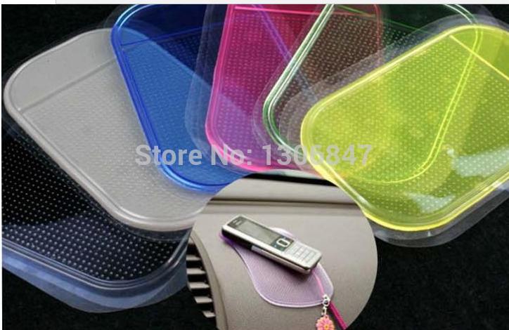 1pc Car slip-resistant mobile phone pad auto supplies car accessories (2014059)(China (Mainland))