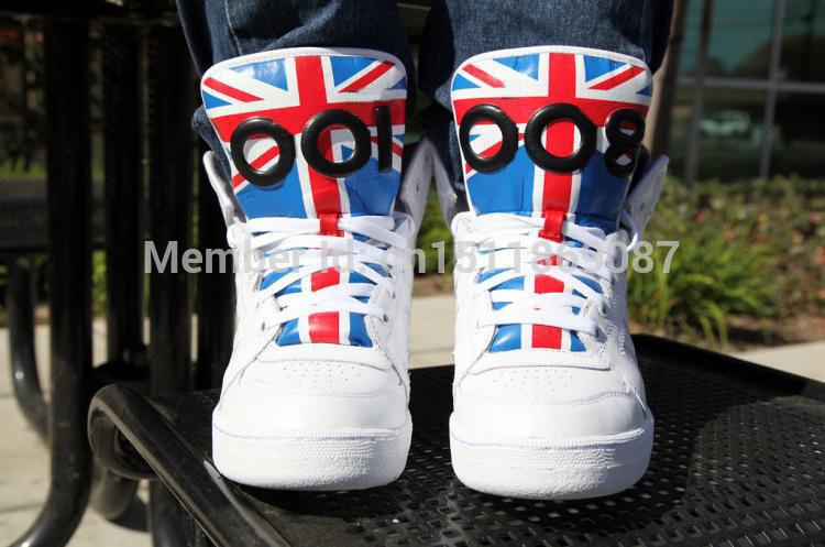 Onde pode comprar barato jeremy scott js instinct hi union jack shoes com grátis frete homens & das mulheres js instinct oi sapatos(China (Mainland))