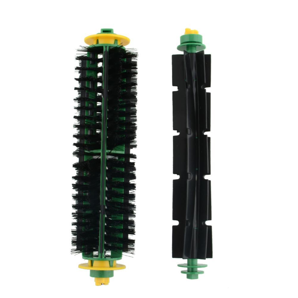 Bristle Brush +Flexible Beater Brush For iRobot Roomba 500 Series 550 570 Clean Free Shipping(China (Mainland))