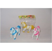 [High Quality] RANDOM SHIP child toys Cute Lovely Small Jumping horse Toy Children Kids Toy wholesale chicken toys