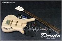 DIY Electric Bass Guitar Kit  Bolt-On  Solid Alder Body Canadian maple neck MX-037