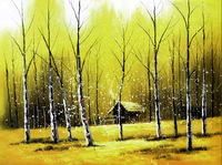 Hot Sell No Frame Cartoon Fairy World For Christmas Gifts Yellow But So Beauty Canvas Prints Home Decor Wall Pictures For Living