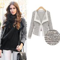 sale high quality 2014 autumn new women short Slim small jacket, plus size coat, woman clothes, women suits, women clothes