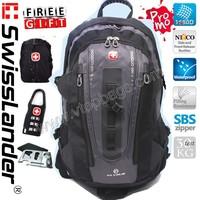 New SwissLander,Swiss Lander,15.6 inch man laptop backpack,woman notebook bagpack,travel school notebook bag pack,w/3 freegift