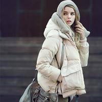 2014 Winter Women Duck Down Jacket Warm X-large Thickening Short Woman Winter Parka Coat RY0396