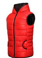 Men's fashionable sweethearts zipper cotton vest