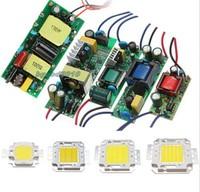 Driver Power Supply & High Power 10W 30W 50W 100W Watt LED SMD Chip Lamp Light