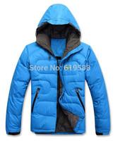 Top quality NEW Fashion Men down jacket outdoors winter coat jacket man brand Size M-XXL
