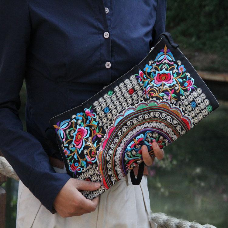 AliExpress.com Product - New 2014 Fashion Desigual Women Messenger Bags National Canvas Women Bag Embroidery Women Handbags Clutch Spain Bolsas Femininas