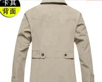 The new trend of men's windbreaker jacket lapel