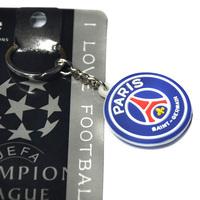 20 teams can choose high quality paris saint germain PVC keychains psg  football souvenir factory direct wholesale