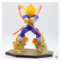 IACG animation around wholesale pvc Dragon Ball Super Saiyan Vegeta toy doll hand to do battle BJ495