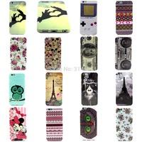 Minnie Rose Flower Camera Owl 100 Dollars Eiffel Tower Skull Orangutan Game Consoles Horde Soft TPU Case Cover For iPhone 6 Plus