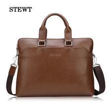PU Leather Men Briefcases, Men's Travel Bags, Office Laptop Shoulder Bag, Sacoche For Men, Man Handbag Tote Black/Brown 2014 New(China (Mainland))