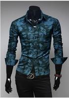 2014 New Casual Mens Dress Shirts Slim Fit Social Shirts Long-sleeved Camisa Roupas Masculina Shirt Men Hombre,men shirt.bb012