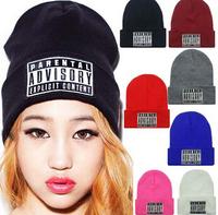 2014 Brand New Men and Women Hiphop Hip hop PARENTAL ADVISORY EXPLICIT LYRICS Beanie Hats Caps