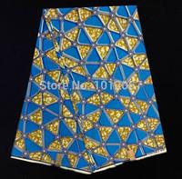 (6yards/lot)FTZ06!free shipping special design real hollandais wax fabric!high class African super wax fabric for women dress!