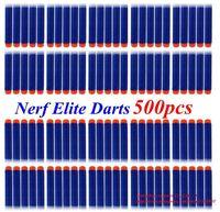 New 2014 hot 500pcs Nerf N-strike Elite Rampage/Retaliator Series Blasters Refill Clip Darts electric toy gun soft nerf bullet