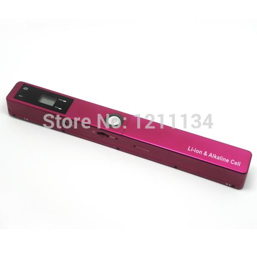 High Speed Handyscan 900dpi USB Portable Handheld Scanner PSN 918 A4 JPG PDF Stock(China (Mainland))
