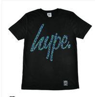 Free shipping hype UK blue leopard skateboard short-sleeve t-shirts