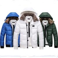Fashion Man Winter Coat Plus Size Cotton-Padded Coat Winter Wear Free Shiping