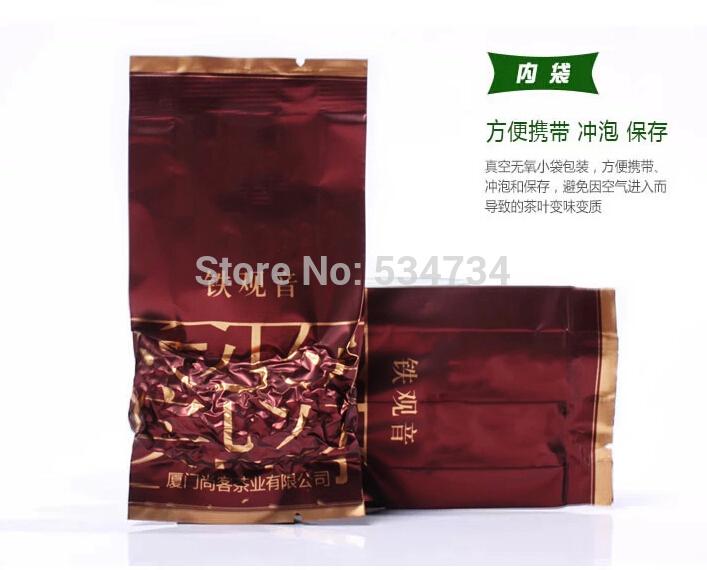 100g Top grade Chinese Oolong tea , TieGuanYin tea new organic natural health care products gift Tie Guan Yin tea(China (Mainland))