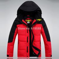 2014 New Male down jacket Men's outdoor leisure waterproof jacket mountain climbing down coat Size S-XXL