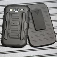 Heavy Duty i9080 Stand Case For Samsung Galaxy i9082 i879 Phone Cover Armour phone cover case for i9128/v