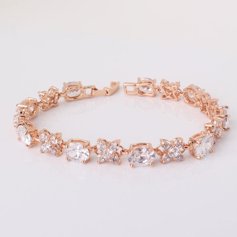 high quality 2014 fashion jewelry bracelets white stones