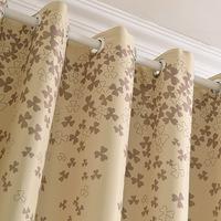 Upscale European 100cm*270cm Custom blackout curtains for modern living room tulle sheer curtain home decor