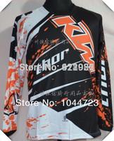 Latest KTM Off-road T-shirt,Quick-drying sweat racing T-shirt,Downhill long-sleeved T-shirt,Size M L XL XXL,Classic Orange