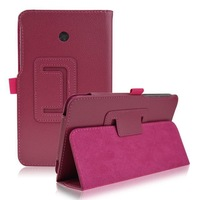 For Asus FonePad 7 FE170 Case Premium Quality Lychee Stand Leather Case for Asus FE170 Free DHL Shipping 20pcs/lot