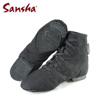 New arrival cotton canvas women Jazz shoes dance shoes men sneakers black JB3 free shipping