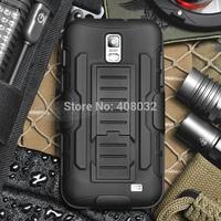 Heavy Duty Armor phone case for samsung galaxy s2 Stand Case Cover For i9210 i727 phone cover for samsung galaxy s2