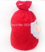 Santa Claus face bag Santa Claus bag back