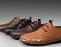 Hot Sale Men's oxfords Casual Dress Shoes European style Genuine Leather Shoes