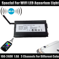 Wireless WIFI Controller For LED Lamp saltwater reefs aquarium light WBM Color,for Iphone 5 5s for Ipad IOS for S4 S5 Android