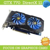 GTX770 2048Mb DIrectx 11 video card gtx placa de video nvidia graphics video cards GTX Nvidia Geforce Graphics Cards for Games