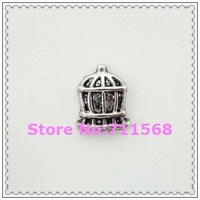Vintage Birdcage Floating Charms New Locket Charm For Memory Glass Locket Accessories