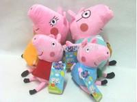 Peppa Pig Family George  4PCS/SET Cartoon Kids Toys Children Animal Doll