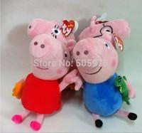 4PCS/SET Peppa Pig toys Cartoon Kids Toys Christmas gift