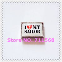 I love My Sailor Floating Charms Sailor Locket Charm For Memory Glass Locket Accessories